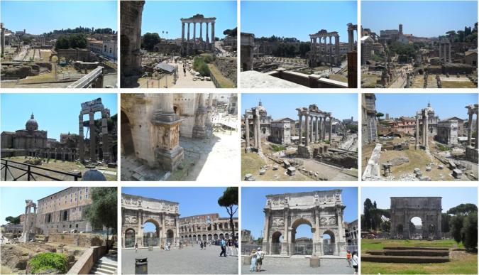 Ainda perto do Coliseu, existem outros monumentos que merecem uma visita, são eles: o Fórum Romano, o Fórum de Trajano e o Mercado, o Arco de Constantino e o Circus Maximus (em Aventino-Testaccio).