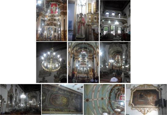 Interior da Igreja do Senhor do Bonfim