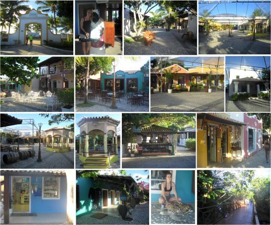 Vila Nova da Praia - o lugar ideal para comprar presentes especiais e lembranças da Costa do Sauípe.