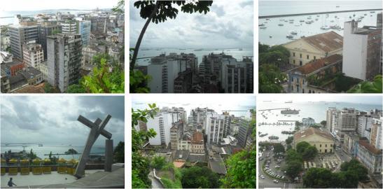 Vista da Cidade alta, junto ao Elevador Lacerda